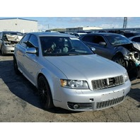 2004 Audi S4 silver damage rear for parts