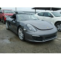2014 Porsche Boxster Grey Damage Front For Parts