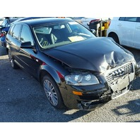 2008 Audi A3 black damaged front for parts 2.0t