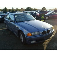 1999 BMW 323i 2dr blue flood damage for parts