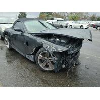 2006 Z4 BMW CONV 2DR/BLACK FRONT DAMAGED FOR PARTS