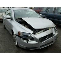 2008 C70 VOLVO CONV 2DR/SILVER FRONT DAMAGE FOR PARTS