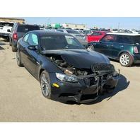 2010 M3 BMW CPE 2DR/BLACK FRONT DAMAGED FOR PARTS