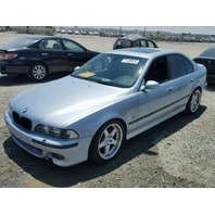 2000 Bmw M5 blue hit right front for parts