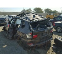 2013 Bmw X5 3.0 brown rollover damage for parts
