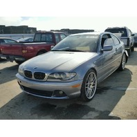 2004 325CI BMW CPE 2DR/GREY REAR DAMGED FOR PARTS