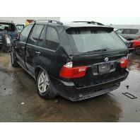 2006 X5 BMW WGN 4DR/BLACK FRONT LEFT DAMAGE FOR PARTS