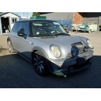 2005 MINI COOPER 1.6 6 Speed Silver Damage Front For Parts