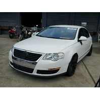 2008 VOLKSWAGEN PASSET SDN 4DR/WHITE FOR PARTS