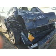 2002 AUDI A4 SDN 4DR/BLACK REAR DAMGED FOR PARTS