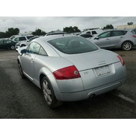 2000 AUDI TT CPE 2DR/SILVER FRONTEND DAMAGED FOR PARTS