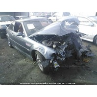 2003 Bmw M3 Cpe blue hit front for parts