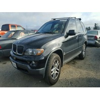 2005 X5 BMW WGN 4DR/BLACK FOR PARTS