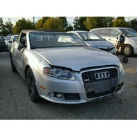 2009 Audi A4 2.0t silver damage all around for parts