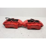 2005 2006 2007 2008 2009 Porsche 911 997 front brake caliper pair red brembo