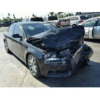 2011 Audi A4 2.0t black hit front for parts