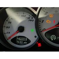 2007 Porsche CAYMAN CPE 2DR/BLACK FRONT DAMAGED FOR PARTS