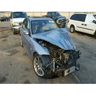 2011 BMW 335I 3.0L Diesel Turbo Blue Damage Front For Parts