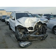 2007 Bmw X5 4.8 white damage front for parts