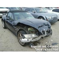 2001 BMW Z3 Black Front End Damage For Parts