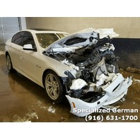 2013 BMW 535I White Damage Front For Parts