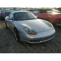 1998 Porsche Boxster 2.5 silver for parts