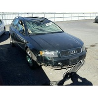 2005 Audi A4 1.8t 6spd green damage rollover