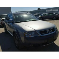2004 Audi A6 Allroad grey flood for parts