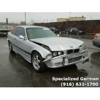 1997 BMW M3 Silver Coupe Front Damage For Parts