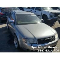 2004 Audi A4 Wagon Grey For Parts