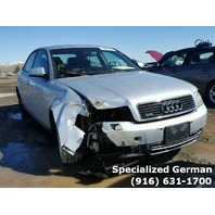 2003 Audi A4 Sedan Silver Front Damage For Parts