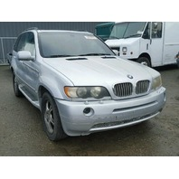 2001 Bmw X5 4.4 silver for parts