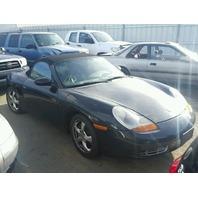 2001 Porsche boxster conv 2dr/black
