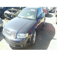 2003 AUDI A4 SDN 4DR/BLUE FOR PARTS