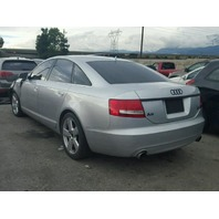 2006 A6 AUDI SDN 4DR/SILVER FRONT DAMAGED FOR PARTS