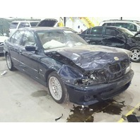 2001 Bmw 540i blue hit front for parts