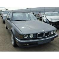 1990 BMW 750IL Grey Sedan For Parts