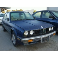 1988 325E SDN 4DR/BLUE FOR PARTS