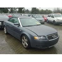 2006 AUDI A4 CONV 2DR/GREY FOR PARTS