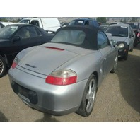 2002 Porsche BOXSTER CON 2DR/SILVER FRONT DAMAGED FOR PARTS