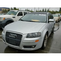 2006 AUDI A3 HTBK 4DR/SILVER RAER DAMEGED FOR PARTS