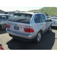 2002 X5 BMW WGN 4DR SILVER FRONT DAMGED FOR PARTS