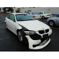2011 Bmw 335i white damage all around for parts