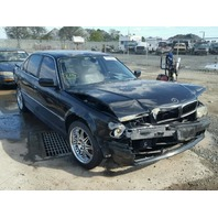2001 Bmw 740i black damage front for parts