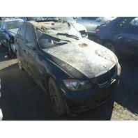 2006 BMW 330xi 3.0 A.T. black flood damage for parts