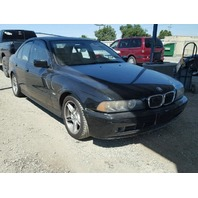 2002 540i bmw sdn 4dr/black for parts