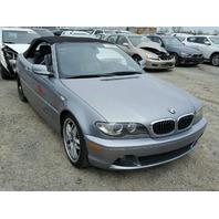 2004 330CI BMW CONV 2DR/GREY FOR PARTS