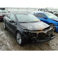 2012 CC VOLKSWAGEN SDN 4DR/BLACK FRONT FIRE DAMAGE FOR PARTS