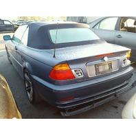 2001 330CI BMW CONV 2DR/BLUE FOR PARTS