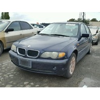 2004 325I BMW SDN 4DR/BLUE FOR PARTS